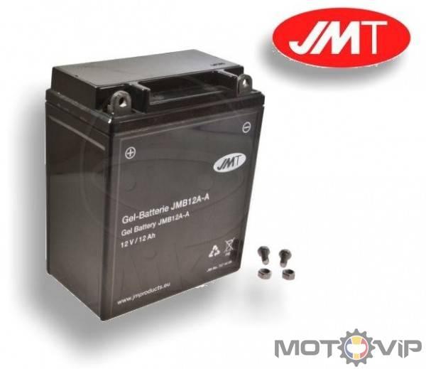 Batterie JMT YB12A-A Kawasaki Z 440 A 1982-1983 KZ440A 27 PS