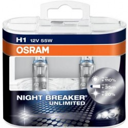 Osram Night Breaker Unlimited - set doua becuri H4