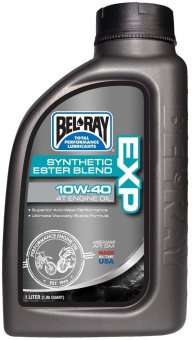 Bel Ray EXP Synthetic Ester Blend 4T Engine Oil 10W-40, 1 litru