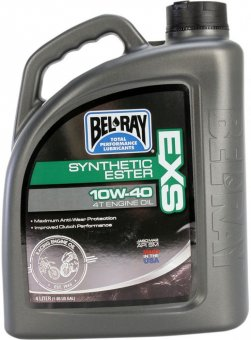 Bel-Ray EXS Full Synthetic Ester 10W40, 4 litri