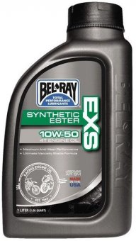 Bel Ray EXS Full Synthetic Ester 4T Engine Oil 10W-50, 1 litru