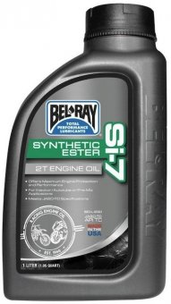 Bel Ray Si-7 Full Synthetic 2T Engine Oil, 1 litru
