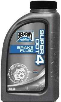 Bel Ray Super DOT 4 Brake Fluid, 355ml