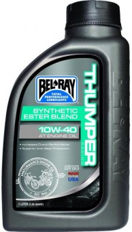 Bel Ray Thumper Racing Synthetic Ester Blend 4T Engine Oil 10W40, 1 litru