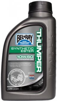 Bel-Ray Thumper Racing Works Synthetic Ester 4T 10W60, 1 litru