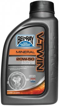 Bel Ray V-Twin Mineral 20W50, 955 ml