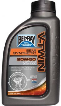 Bel Ray V-Twin Semi Synthetic 20W50, 955 ml