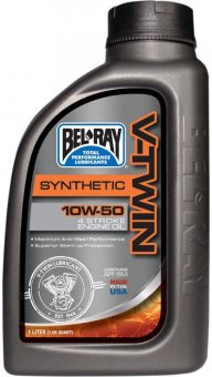 Bel Ray V-Twin Synthetic 10W50, 955 ml