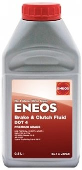 Eneos Brake & Clutch Fluid DOT4, 500 ml