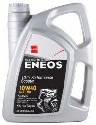 Eneos City Performance Scooter 10W40, 4 litri