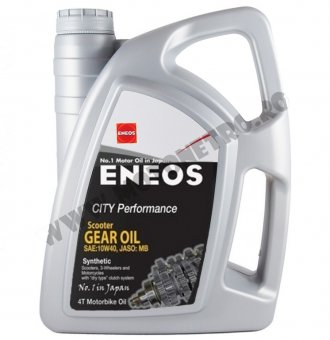 Eneos City Performance Scooter Gear Oil 10W40, 4 litri
