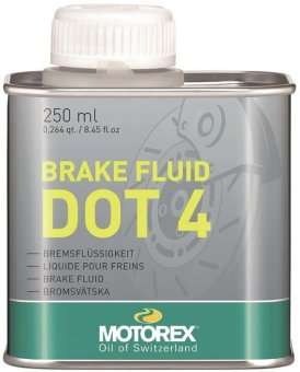 Motorex DOT 4 Brake Fluid, 250 ml