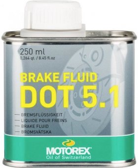 Motorex DOT 5.1 Brake Fluid, 250 ml