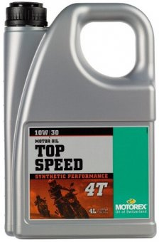 Motorex Top Speed 10W30, 4 litri