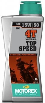 Motorex Top Speed 15W50, 1 litru