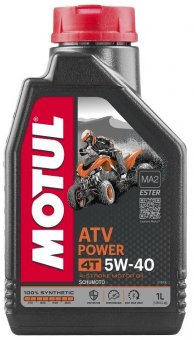Motul ATV Power 5W40, 1 litru