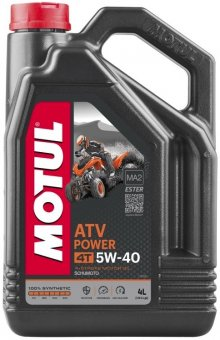 Motul ATV Power 5W40, 4 litri