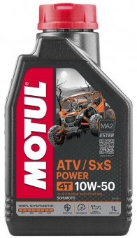 Motul ATV SxS Power 10W50, 1 litru