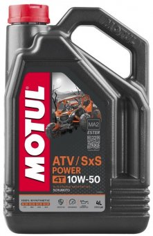 Motul ATV SxS Power 10W50, 4 litri