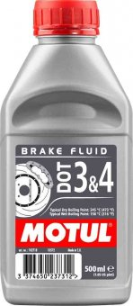 Motul DOT 3&4 Brake Fluid, 500 ml