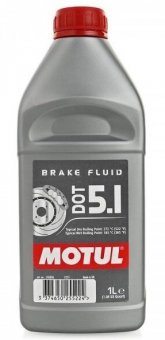 Motul DOT 5.1 Brake Fluid, 1 litru