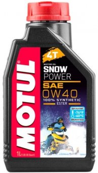 Motul Snow Power 4T 0W40, 1 litru