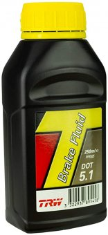 TRW Lucas brake fluid DOT 5.1, 250 ml